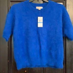 Angora wool blend sweater